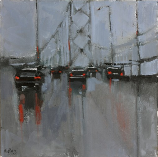Bay Bridge in the Rain